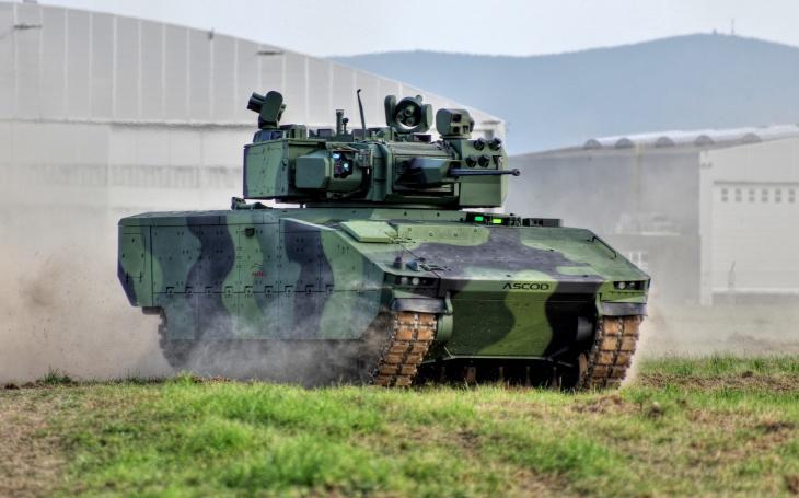 VIDEO: ASCOD 42 se předvedl během dynamických ukázek na Dnech NATO