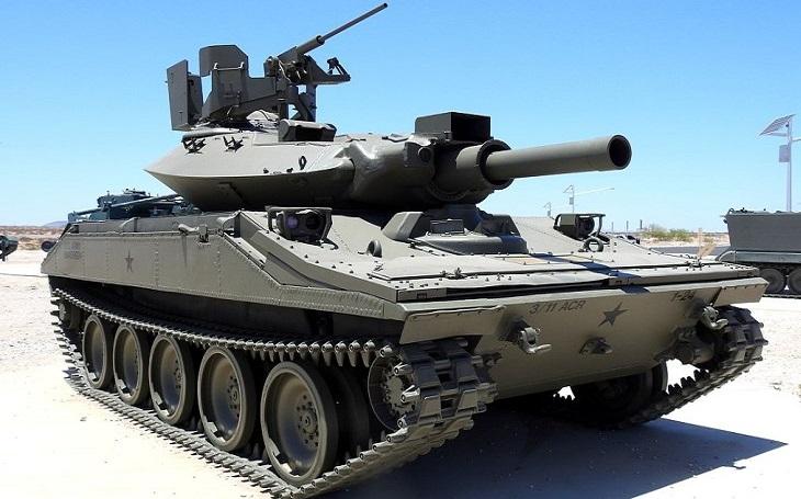 Americká armáda se poohlíží po novém lehkém tanku pro rychlý výsadek. Ve hře jsou dva kandidáti