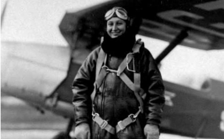 Janina Lewandowska – polská pilotka zavražděná Sověty v Katyni