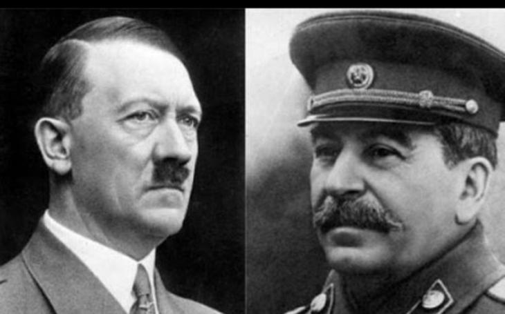 Diktátoři Hitler a Stalin - dvě strany jedné mince