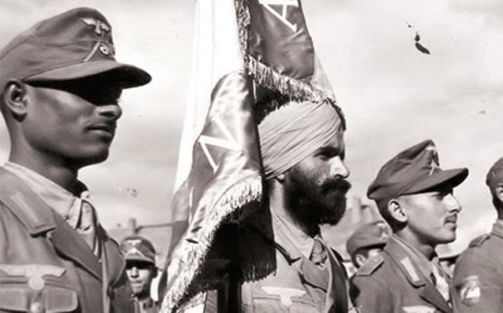 Za Hitlera! Jak nacisté vyzbrojili indickou jednotku, která chtěla svrhnout britskou nadvládu