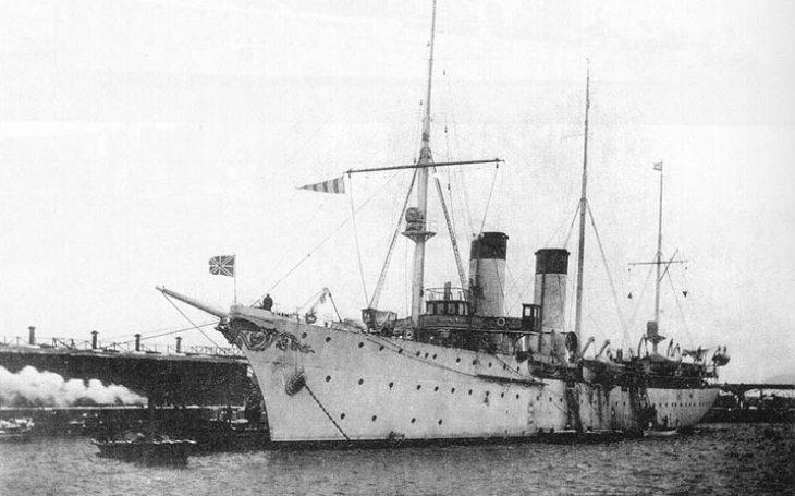 Křižník Almaz si zabojoval v rusko-japonské válce, nakonec ho sešrotovali ve Francii