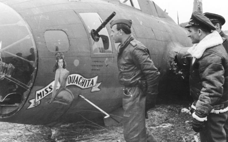 Prostořeký německý elitní pilot, co si otevřel pusu na Göringa