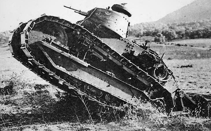 Nizozemsko nebylo na válku s Hitlerem připraveno - přesvědčil ho o tom stařičký tank z první světové války