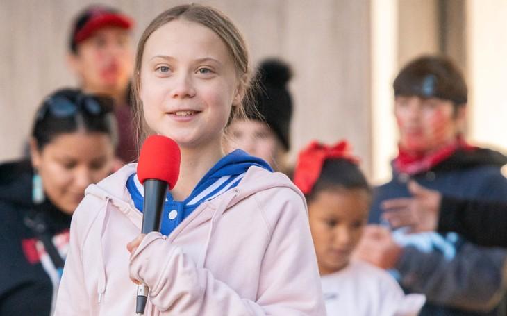 Klimatická aktivistka Thunbergová tepe Trumpa: Vychladni a jdi se podívat na film!