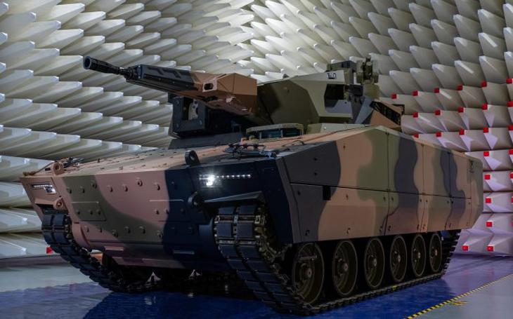 Australskému Lynxu KF41 to sluší a chlubí se příbuzností s úspěšným Boxerem
