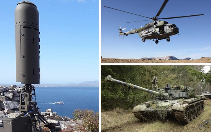 Radary, vrtulníky, tanky: Trojice sporných zakázek, které si Metnar za rámeček nedá. Schválily se i subdodávky bez soutěže