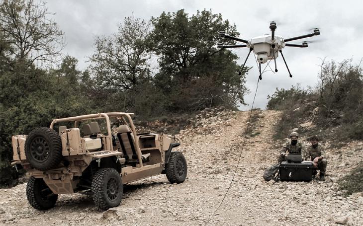 Společnost Elistair představila upoutaný dron Orion 2 s dlouhou výdrží pro vojenské, bezpečnostní a průmyslové použití