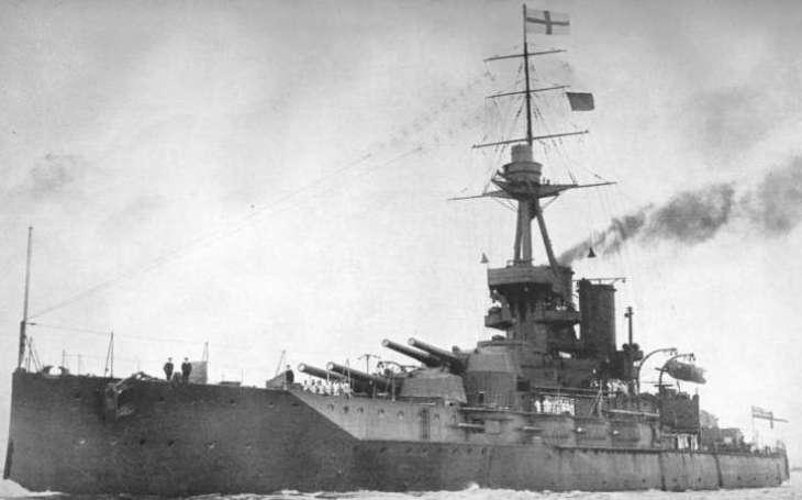 Britský ,,Železný vévoda&quote; s majestátní výzbrojí. HMS Iron Duke zažil obě světové války