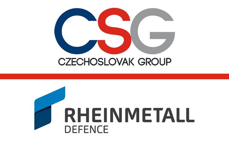 Rheinmetall a Czechoslovak Group podepsaly memorandum o výrobě a technologické podpoře v oblasti vojenských vozidel