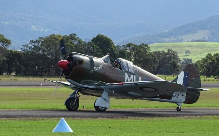 Letoun CAC Boomerang - australská zbraň proti japonské expanzi. Prototyp byl hotov za 16 týdnů