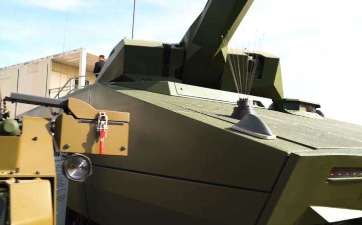 Ohlédnutí za Dny NATO 2020 - bojové vozidlo LYNX KF41