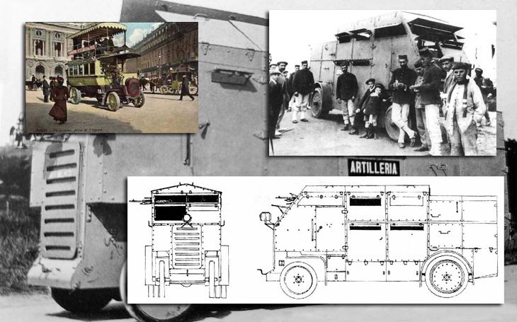 Španělé bojovali v Maroku ve francouzském autobusu – první KBVP již v roce 1910