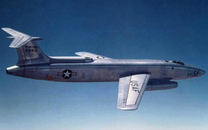 Zapomenuté letouny – Martin XB-51 pochválil i legendární Chuck Yeager, ale do výroby se nedostalo