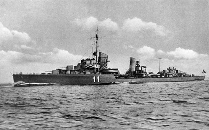 Torpédoborce Kriegsmarine nesly jména hrdinů první světové války – ale také nešikovného špiona