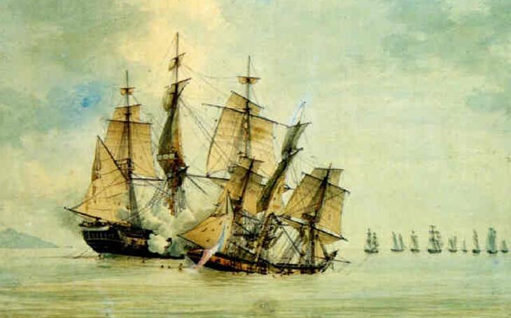 HMS Danae - zapomenutý příběh mladého francouzského korzára ze Saint-Malo