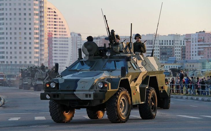 VIDEO: BPM-97 - Moderní ruská obrněná vozidla pro pohraničníky