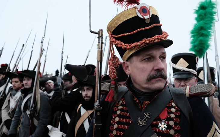 """Pro AČR kapitánem, v Napoleonově gardě námořník: """"občas si neodpustím svým vojákům zavelet francouzsky"""""""