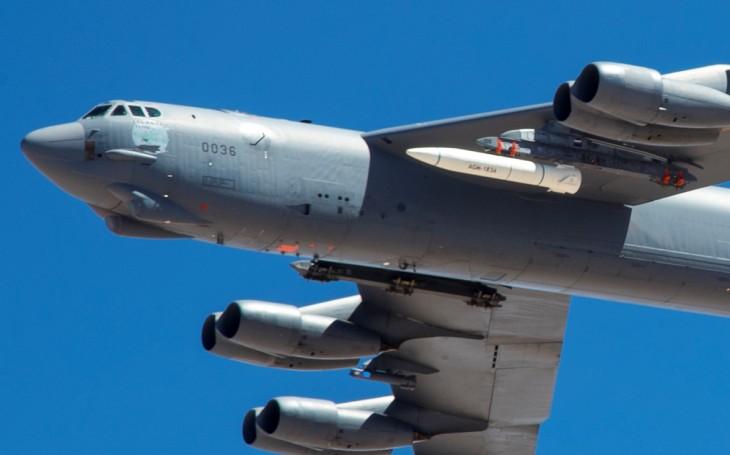 VIDEO: USAF uskutečnil další letový test hypersonické střely AGM-183A na bombardéru B-52H