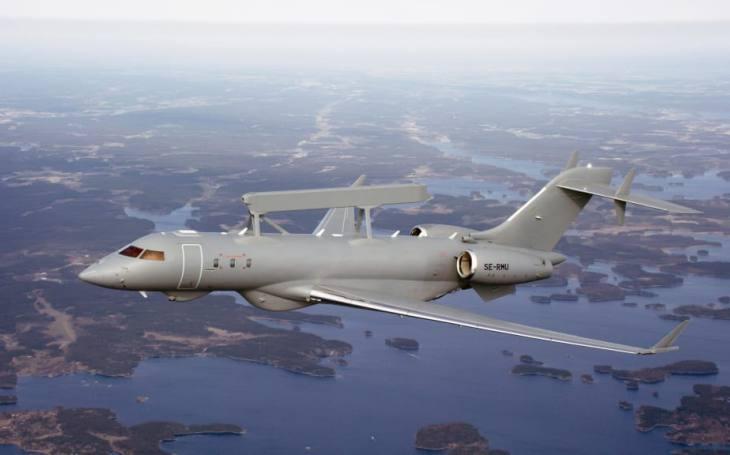 VIDEO: Spojené arabské emiráty dostanou další letouny GlobalEye od švédského SAABu