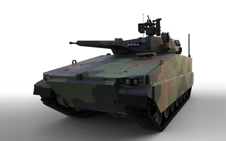 Po vozidle LYNX je v Austrálii ke zkouškám připravené i jihokorejské BVP Redback