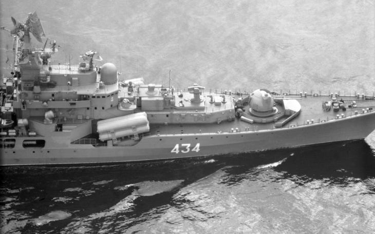 Kapitán ruského námořnictva ukradl dva 13tunové lodní šrouby ze svého vlastního torpédoborce