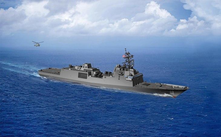 Třída Constellation: Nové moderní fregaty pro americké námořnictvo