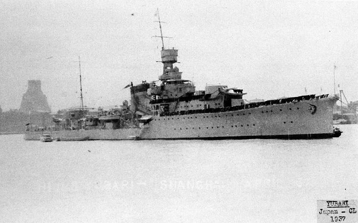 Úspěšný experimentální křižník Júbari poslednímu torpédu neunikl