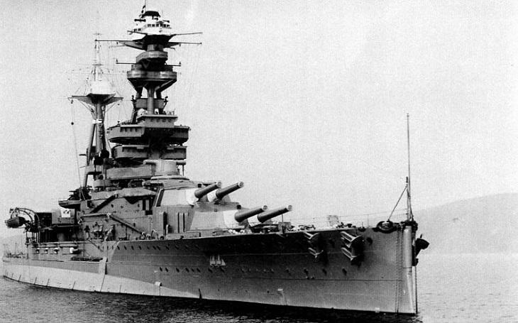 Odvážný průnik německé ponorky do Scapa Flow ,,nepřežila&quote; britská bitevní loď HMS Royal Oak