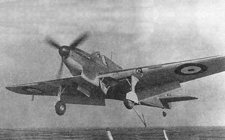 Těžkopádný Fairey Fulmar - poněkud nečekaně nejúspěšnější britská palubní stíhačka 2. světové války