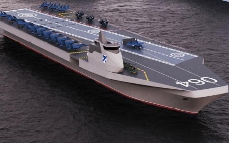 V Rusku představili projekt univerzální námořní lodi Varan - nahradí Kuzněcova?