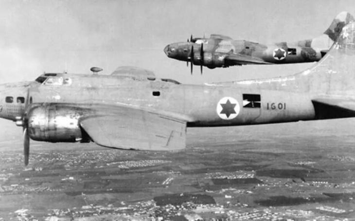 Bomby na Káhiru se snesly z izraelských B-17 i díky Československu