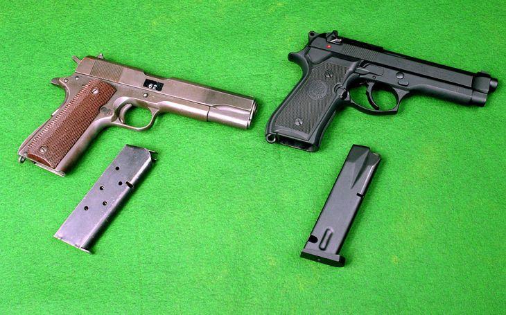 Trendy zavedené munice do ručních zbraní