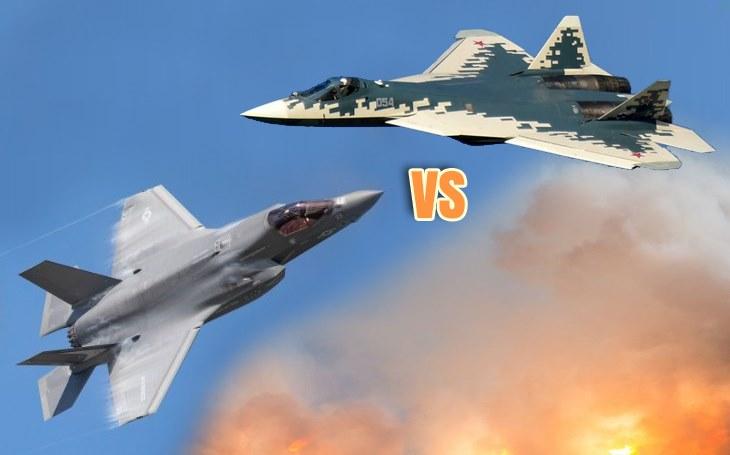 Su-57 je vynikající letoun a F-35 by lehce poslal k zemi. Americký stroj neumí manévrovat, míní bývalý ruský testovací pilot