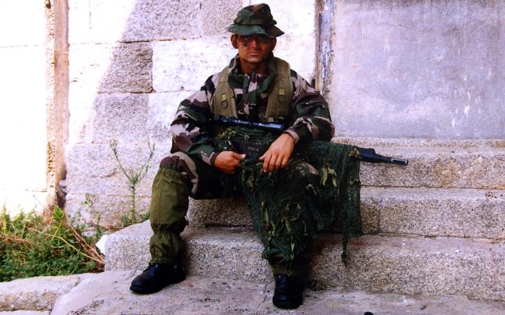V misích to bylo tvrdé a několikrát fyzicky i psychicky hodně nadoraz, říká v rozhovoru veterán Francouzské cizinecké legie Stanislav Gazdik