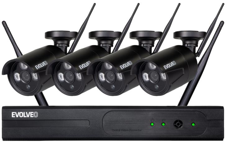Neunikne ani myš. Bezpečnostní kamerový systém EVOLVEO DETECTIVE WN8