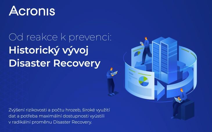 Acronis: loňské kybernetické útoky zvýšily zájem o Disaster Recovery