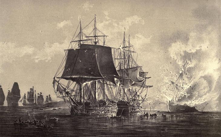 Royal Navy: expert na ničení lodí bývalých spojenců - ruský admirál zbaběle ustoupil a stanul před soudem