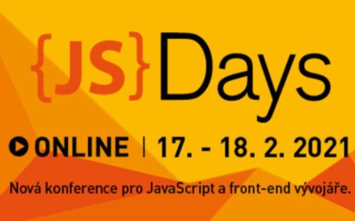 Nová konference JavaScript Days