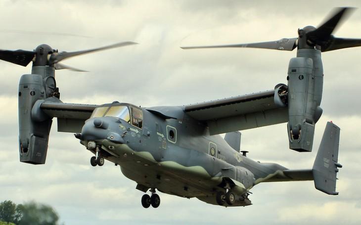 Velitelství námořních leteckých systémů NAVAIR zadalo společnosti Bell Boeing zakázku ve výši 81 milionů USD na úpravu konvertoplánu CV-22 Osprey
