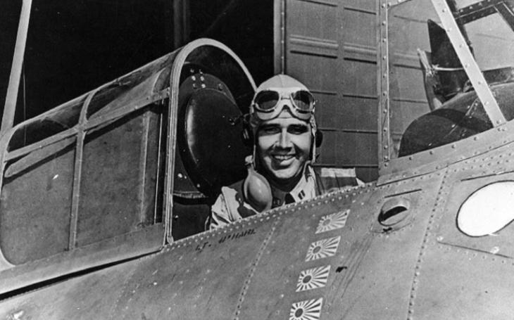 Sám proti osmi japonským bombardérům – mise na záchranu letadlové lodi Lexington