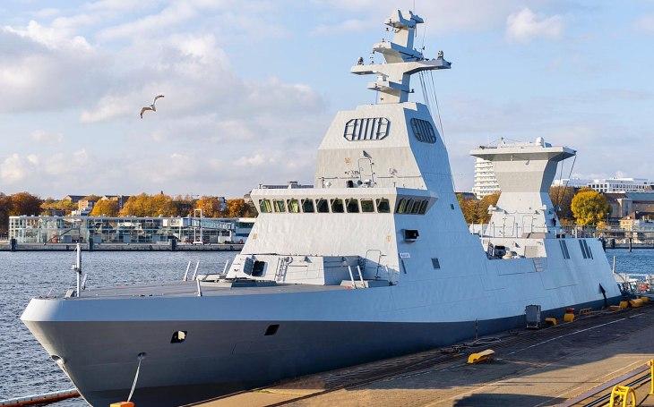,,Po zuby&quote; ozbrojené izraelské hlídkové korvety třídy Sa'ar 6 i s pokročilou námořní verzí systému Iron Dome