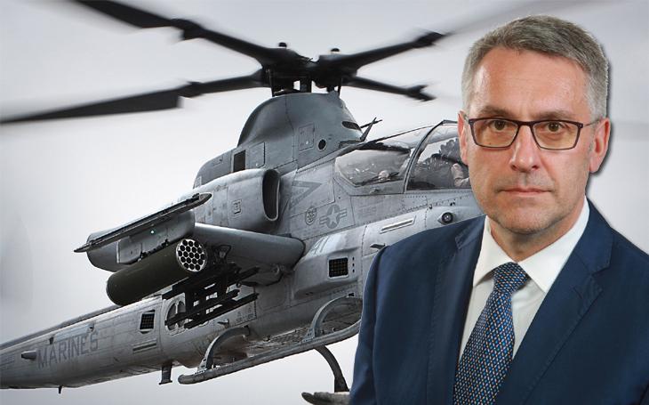 Kauza nákupu vrtulníků bude pokračovat před Evropskou komisí. Metnarovi není do smíchu. Zřejmě zvýhodnil americký Bell