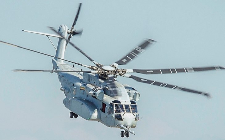 Izrael si zvolil CH-53K King Stallion jako svůj nový těžký vrtulník