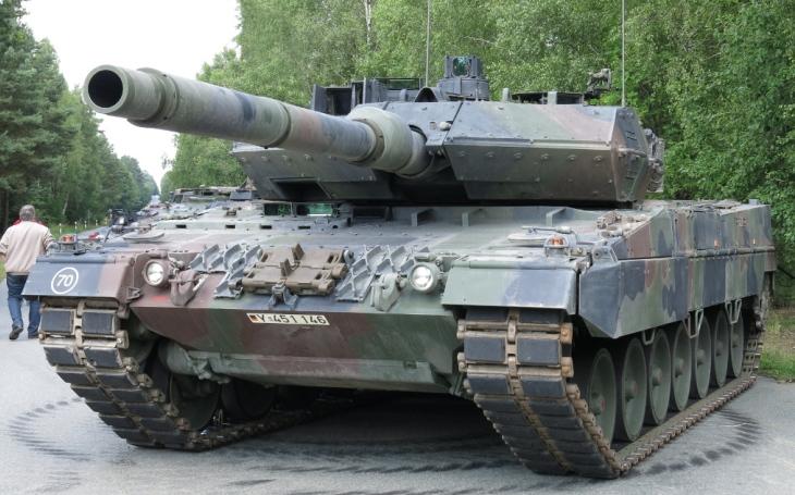 Německé tanky Leopard 2 budou vybaveny izraelským systémem aktivní ochrany Trophy