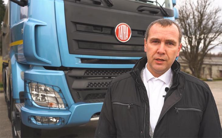 Armáda i hasiči potřebují domácí techniku schopnou projet každým terénem, říká ředitel marketingu společnosti Tatra Trucks
