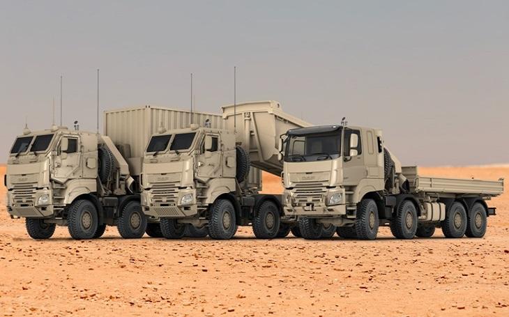 Společnost DAF získává velkou objednávku vozidel na podvozcích Tatra pro belgické ozbrojené síly