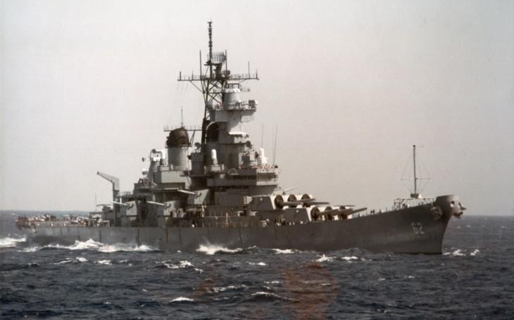 Legenda třídy Iowa - nejrychlejší bitevní loď světa jela 6 hodin rychlostí přes 65 km/h