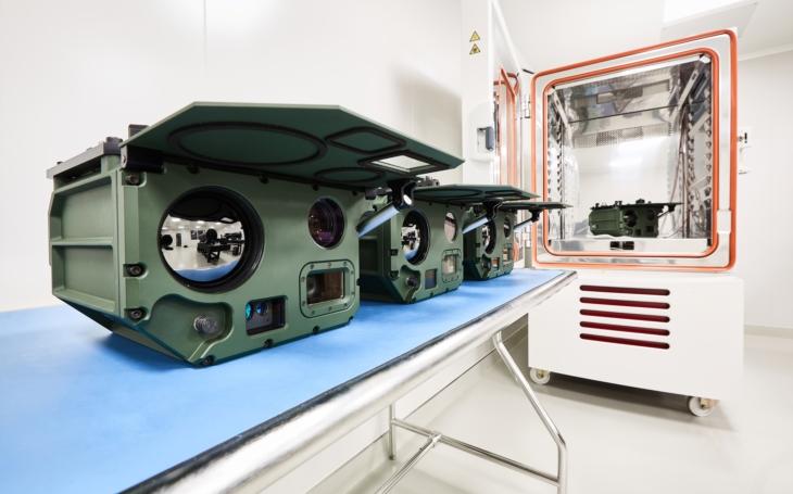 EVPÚ Defence - přední český výrobce elektro-optických systémů investuje do nových technologií