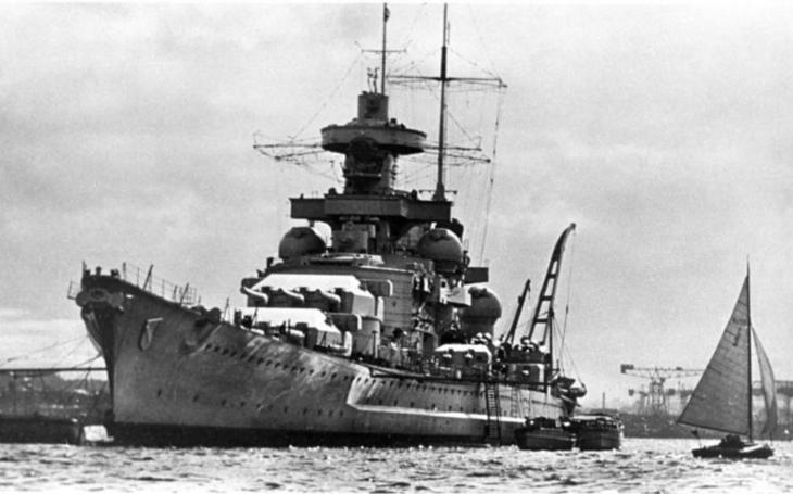 Hitlerova prokletá bitevní loď Scharnhorst